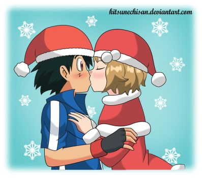 Amourshipping: All I want for Christmas is You 2 by KitsuneChiSan