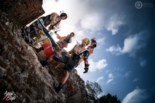 Final Fantasy X cosplay by Style85