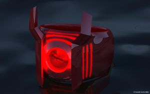 Red Lantern Power Ring by JeremyMallin