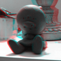 Fan Monster Anaglyph by Yowesephth
