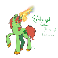 Shillelagh the Leprecorn by Wrenhat