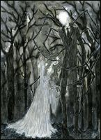 Slenderman :: A Stolen Love by Fanhir
