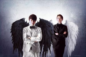 Eunhae angels by Heedictated
