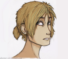 That's A Lovely Ponytail Newt by Deesney