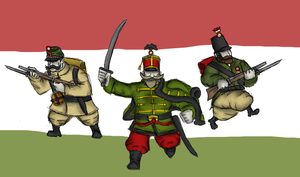 Here comes Hungary! by renato8881