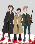 (The Hateful) Team Free Will by Mari-99