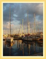 sunset Bayboro Harbor, Florida by americanina