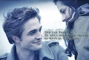 Edward and Bella - Loved you. by gracemac