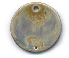 Pond Ceramic Pendant by ChinookDesigns