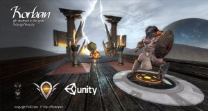 Korban redesign and my lab unity scene. by Daviddleonluis