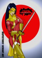 Young Justice Katana by Inspector97
