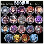Mass Effect Buttons 2 by jinyjin
