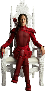 The Hunger Games: Mockingjay - Katniss HQ PNG #01 by BrielleFantasy