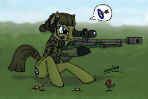 Sniper on the high by Tempestwulf