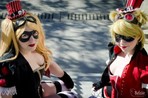 Double Harley by lovely-chen