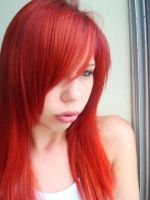 Red New Hair by MariRainha