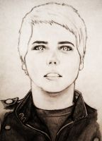 Black Parade Gerard Way by ilovemalloryjo