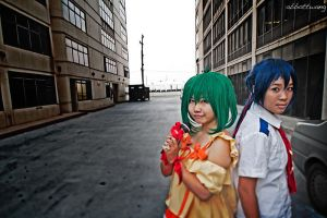 macross frontier: together by kim-tram