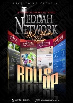 JN Rolls up Flyer by Naqibo