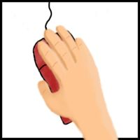 A hand. On a mouse by Danferno