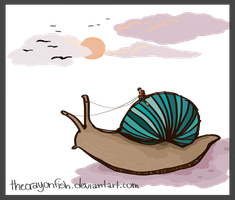 Snail Weather by pixel-Inked