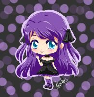 CM: Ellie - Purple gothic girl by Atsuky