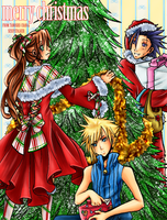 Deck the Halls colored by TenchuuYoukai