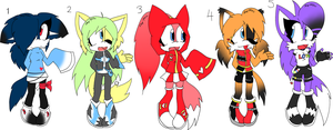 Adoptables +CLOSED+ by Sky-Yoshi