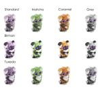 Espurr Color Morphs by Aishi-chan2