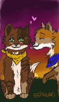 Milo and Ali-By Espherio by Speckledleaf