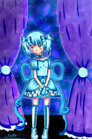 Starry Blue Melody by Oce3D