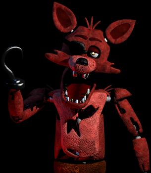 C4D|SuperPackTexture|Foxy The Pirate New Textures! by YinyangGio1987