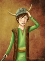 Hiccup being Hiccup by Jellyfishbubblez