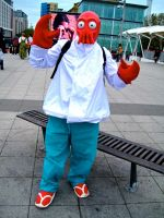 Dr Zoidberg from Futurama by ZeroKing2015