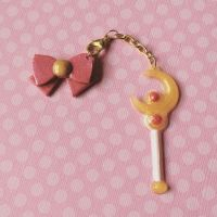 Sailor Moon Charm by MoniqueSweets