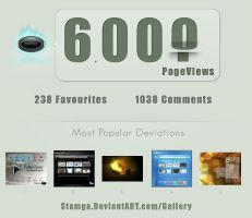6000 PageViews by Stamga