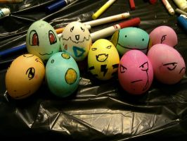 Pokemon Easter by CHR0NIE