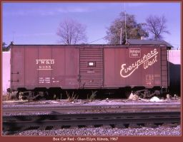 Box Car Red by classictrains
