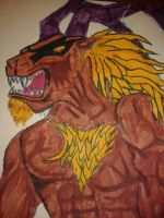 Final Fantasy VIII: Ifrit by WillOTheWhisp