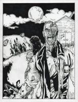 Zombies in the farmland by BIG-D-ARTiZ