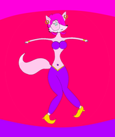 Pinky Fox by Superacl