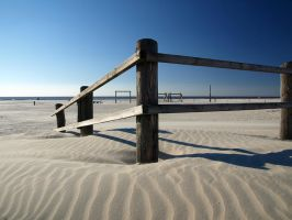 Beach St. Peter Ording Germany by sandor99