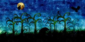 Night Creatures- Nais25 by childrensillustrator