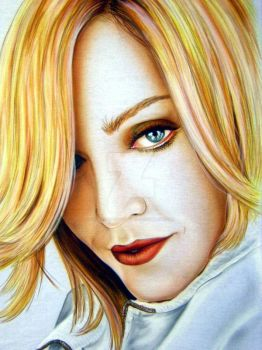 Madonna by iPaintAirbrushStudio