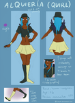 Quirl ref sheet by LilayM