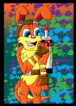 Daxter  and Tik by wolfcub