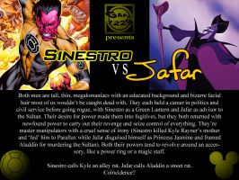 Sinestro VS Jafar by What-the-Gaff