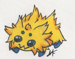 Day 7: Joltik by Arkluden