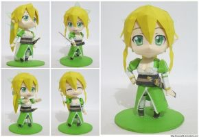Papercraft Chibi Lyfa (final) by bryanz09