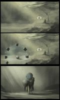 The Lost Soul Lost Ball Storyboard by BABAGANOOSH99